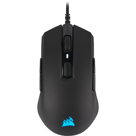 CH-9308011-NA Corsair M55 RGB Pro Wired Ambidextrous Multi-Grip Gaming Mouse 840006607779