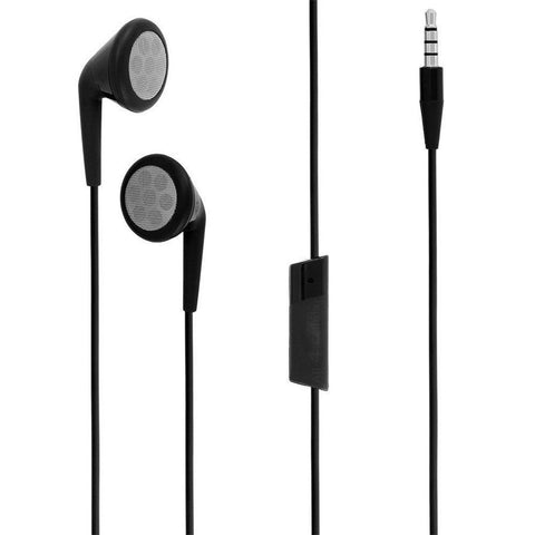 BlackBerry 3.5mm Premium In Ear Stereo Headset - Black (HDW-24529-001) 843163029064