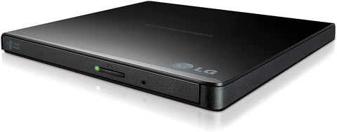 LG USB 2.0 Super Multi Ultra Slim Portable DVD Writer Drive +/-RW External Drive (GP65NB60)