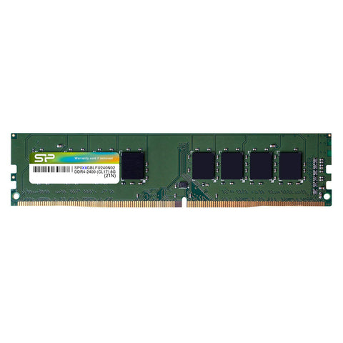 Silicon Power DDR4 288-PIN Unbuffered DIMM - TAA Compliant - Limited Lifetime Warranty