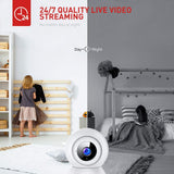 VICTURE 2.4G WiFi Wireless IP Home Security Camera, Sound Detection Motion (SC210-B) x0028gyn03