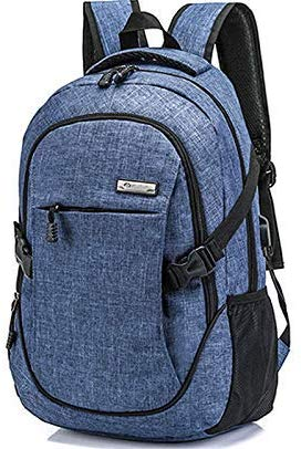 HOPERAY Laptop Backpack with Notebook Compartment and USB Charging Port (NB-BLUE) 81785169