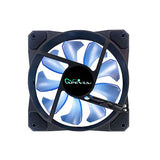 CO12L-BL Apevia 120MM Led Case Fan w/ Anti-Vibration Rubber Pads, 1 pack 837344006340