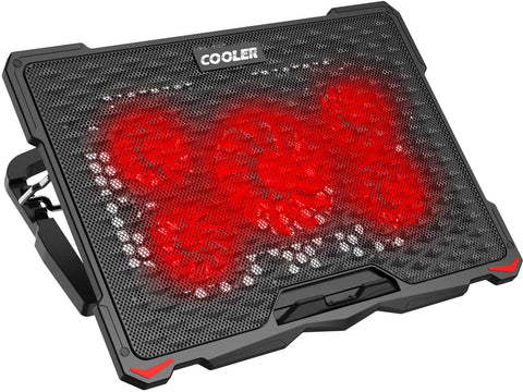 "AICHESON Laptop Cooling Pad for 17.3"" Notebook (S035RED) X001ULA5NV"
