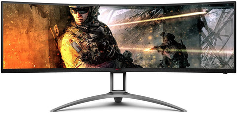 "AGSO493UCXTAA AOC AGON 49"" Curved Immersive Gaming Monitor w/ Adaptive-Sync, sRGB 685417722280"