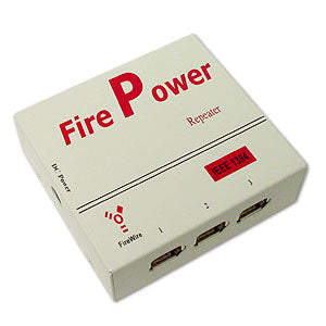 FIREWIRE Fire Power 3-Port Repeater (KW-582H3)