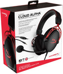 HX-HSCA-RD/AM HyperX Cloud Alpha Gaming Headset Detachable Microphone Red 740617268324