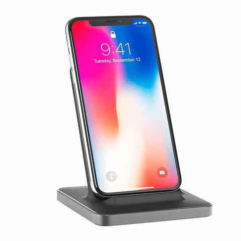 Ubio Labs Wireless Charging Stand For Mobile Phones, iPhones, Tablets, E-readers, Headphones and More (1325106)