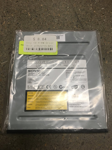 CDU5215-B2 Sony CD-R/RW Drive Unit Black 94648145