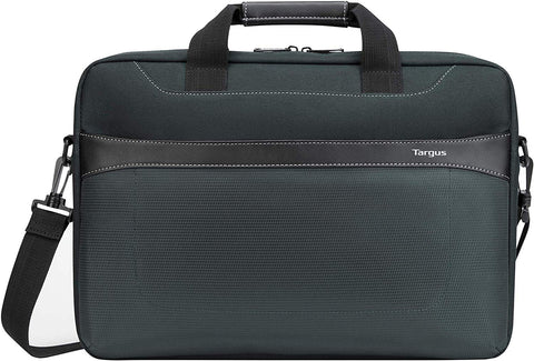 Targus Geolite Essential fit 15.6-Inch Laptop Case, Grey (TSS98401GL) 092636330361