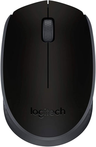 910-004940 Logitech M170 2. 4GHz Wireless 3-Button Optical Scroll Mouse W/Nano USB Receiver 097855124180