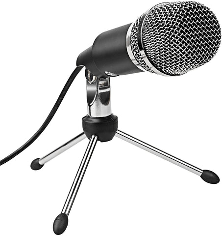 FIFINE Microphone, Plug & Play Home Studio K668 USB Condenser Microphone (FBA_ABCD00013)
