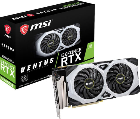 MSI GeForce Super 8GB Express 3.0 Graphics Card (RTX 2070 SUPER VENTUS OC)