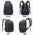 Osoce Laptop Backpack for up to 15.6 inch, with USB Charging Port