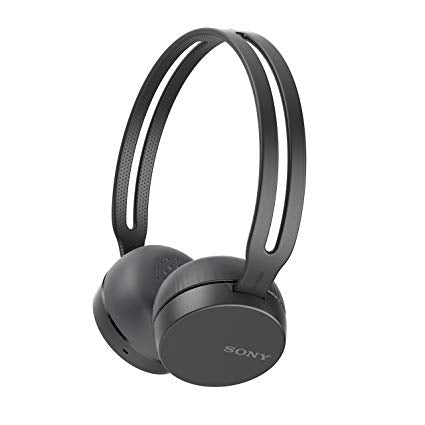 WHCH400B Sony Headband Headphones, Black 027242908611