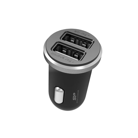 Silicon Power Boost 2 Port USB Car Charger SP2A1ASYCC102P0K (CC102P) 886576031880