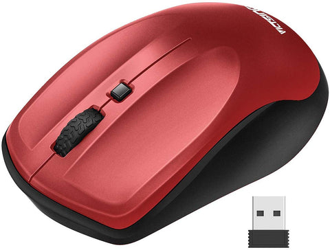 Victsing Wireless Mouse for Laptop, Portable Ergonomic Mouse