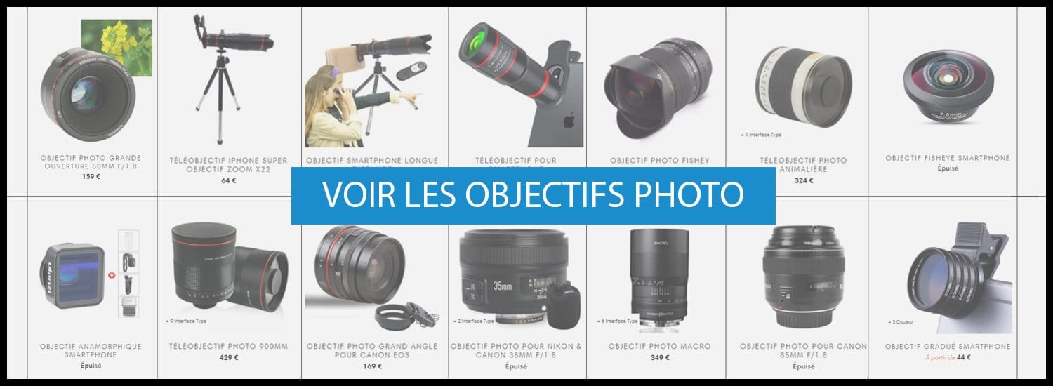 Collection Objectif Appareil photo
