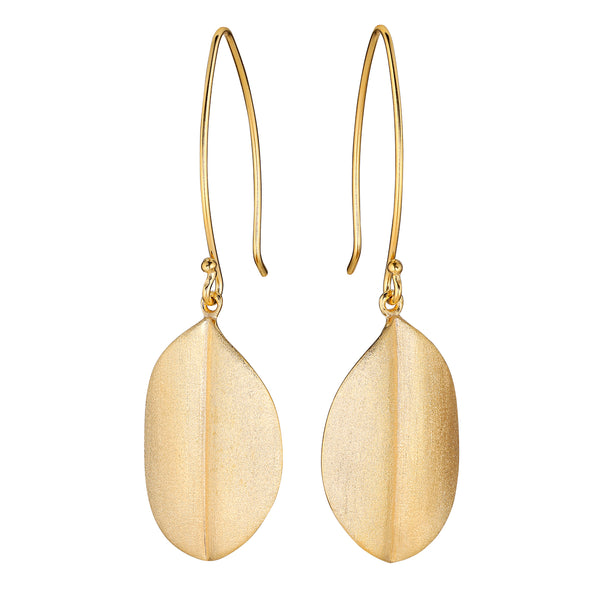 Gold Grandifolia Earrings