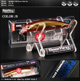 Bearking Retail  hot good fishing lures minnow,bear king quality professional baits 90mm/10g,swimbait jointed bait Crankbait