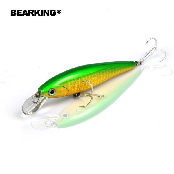 A+ fishing lures,new model,Bearking perfect action minnow,78mm/9.2g, 5pcs/lot.  dive 0.8-1.2m