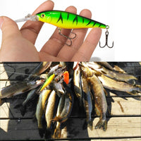 SEALURER Fishing lure 1pcs Pike Bait Minnow 11cm 10.5g Jerkbait Deep Swim Wobblers Crankbait