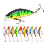 8.5g 7cm Fishing Lure Crankbait Simulation Bait Hard Bait Wobblers Dive 1.5m Peche Isca Artificial Fishing Tackle