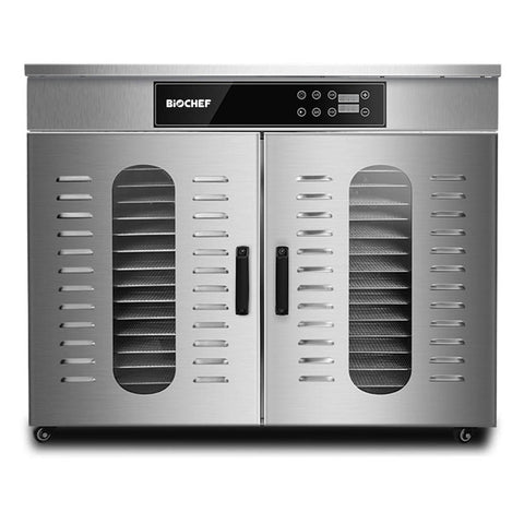 BioChef Commercial 32 Tray Digital Food Dehydrator front closed