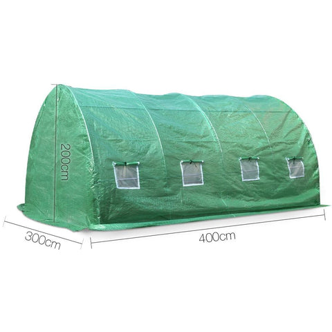 Green Fingers All Weather Tunnel Greenhouse 2m x 3m x 4m