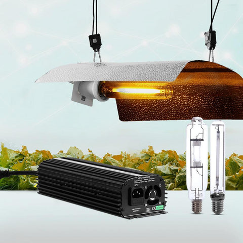 Greenfingers 600W HPS MH Grow Light Kit Digital Ballast Reflector