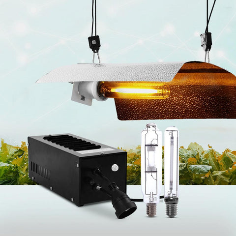 Products Greenfingers 400W HPS MH Grow Light Kit Magnetic Ballast Reflector Hydroponic Grow System