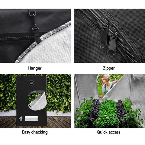 Products Greenfingers Hydroponics Indor Grow Tent Kits Reflective 1.2X1.2X2M 600D Oxford