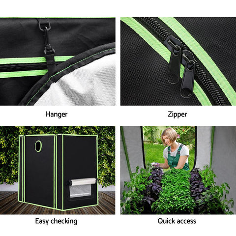 Products Greenfingers Grow Tents Hydroponics Plant Tarp Shelves Kit 60 x 40 x 60cm