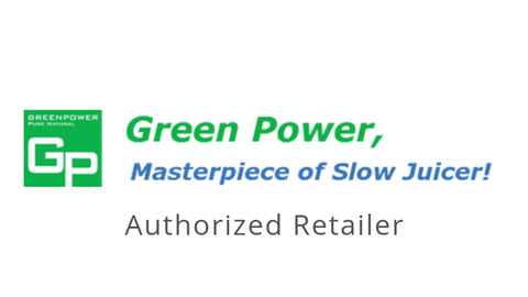 Greenpower juicers cold press juicers Greenpower slow juicers