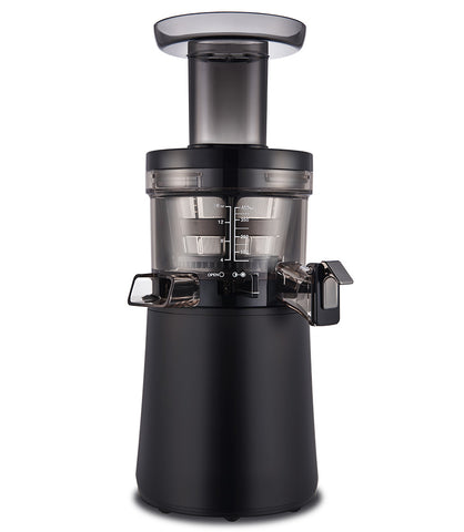Hurom-H26-Alpha-Cold-Press-Juicer-Black-H26B-front