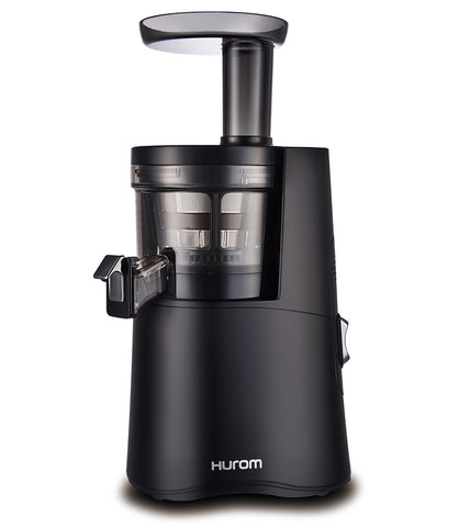 Hurom-H26-Alpha-Cold-Press-Juicer-Black-H26B-side