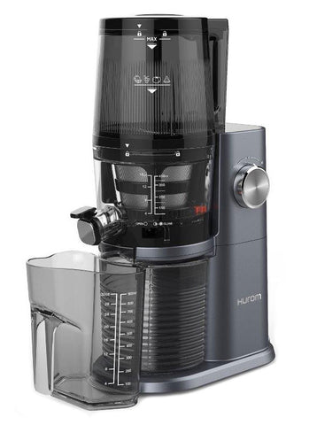 Hurom H34 'One Stop' Cold Press Juicer Midnight Blue with jug