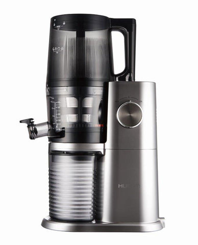 Hurom H34 'One Stop' Cold Press Juicer Platinum side