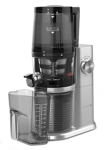 Hurom H34 'One Stop' Cold Press Juicer Platinum with jug