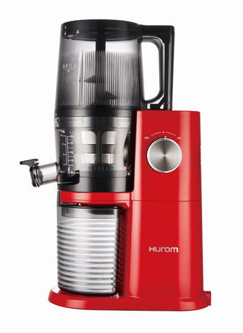 Hurom H34 'One Stop' Cold Press Juicer Vivid Red side