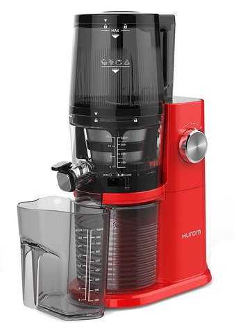Hurom H34 'One Stop' Cold Press Juicer Vivid Red with jug