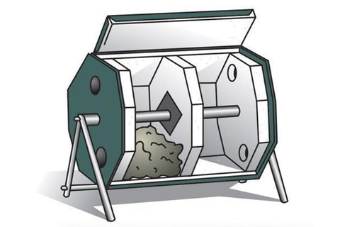Joraform 'Big Pig' Rotational Composter - 270L illustration