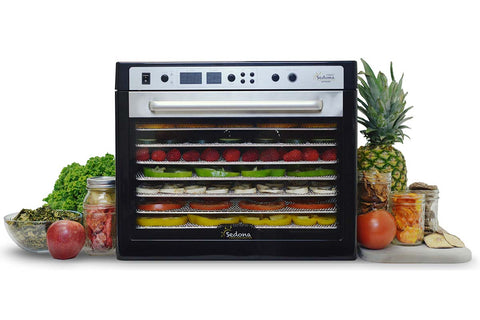 Sedona Supreme Commercial Dehydrator with 9 Stainless Steel Trays TBSSCD beauty