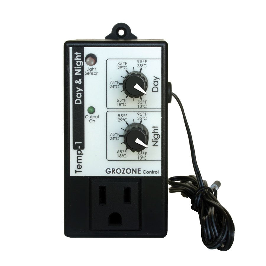 Grozone TP1 Day/Night Temperature Controller