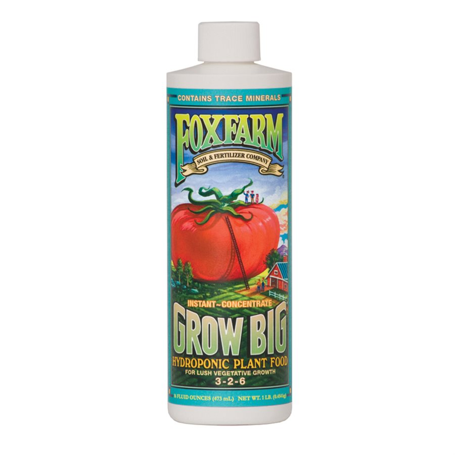 FoxFarm - Hydroponic Grow Big (473ml)
