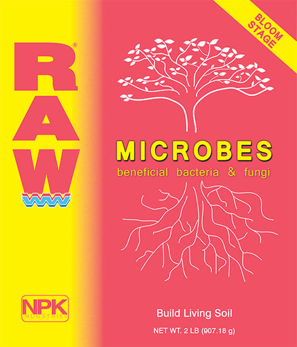 RAW - Microbes Bloom Stage (2Oz)