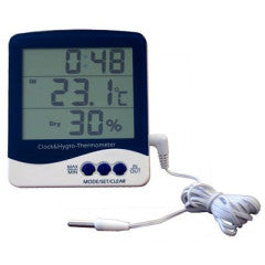 Thermometer-Hygrometer w/ Probe