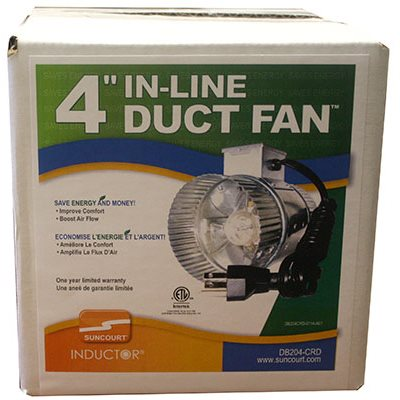 Suncourt - 1 Speed In-Duct Fan 65 CFM 4