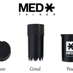 Med-Tainer Smell Proof Grinder