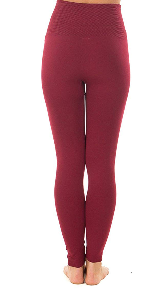 Regular/Plus Size/Petite Women's Fleece Lined Leggings High Waisted Leggings Winter Warm Leggings Tummy Control